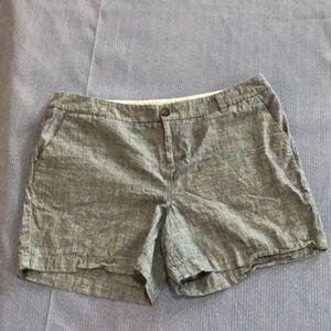 Pants - Merona 100% Blue Cotton Shorts